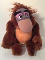 "Disney Parks Jungle Book King Louie Orangutan Vintage Plush Stuffed Animal 12"""