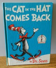 """1958 Vintage """"The Cat in the hat comes back""""  by DR. SEUSS 1st edition BCE"""