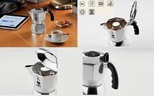 BIALETTI CAFFETTIERA 2 TAZZE BRIKKA EXPRESS  ALLUMINIO 8006363012157