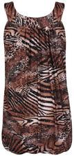 Maglie e camicie da donna in poliestere senza maniche taglia 44