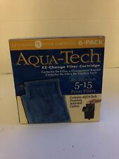 AquaTech EZ-Change #1 Filter Cartridge for 5-15 Filters 6 Pack- Brand New