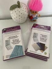Cricut Cuttables Embossing Kit X 2