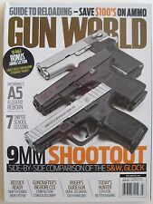 9MM SHOOTOUT July 2013 GUN WORLD Guide to Reloading BROWING'S A5  SNIPER SCHOOL