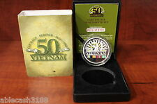 Armour Vietnam 50th Limited Edition Medallion in Case with Certificate #747/1000