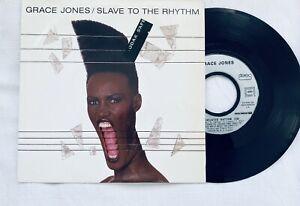 Grace Jones /slave to the  rhythm /45 tours