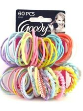 Hair Ties Bands Elastics Goody Girls Assorted Ouchless 2 Packs of 60 Count 09425