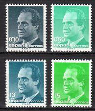 Spain - 1989 Definitives Juan Carlos - Mi. 2888-91 MNH