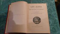 SPORT ALPINISME /  1907 ALPES GRANDES ASCENCIONS PAR LEVASSEUR 7éme EDITION