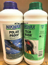 More details for nikwax polar proof & tech wash waterproofing insulated synthetic salopettes