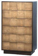 """50"""" T Catena Dresser Modern Contemporary Oak Wood Veneer Plinth Style Base"""