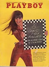PLAYBOY May 1967 Grand Prix Woody Allen PORN STAR Black Panther Anne Randall RCV