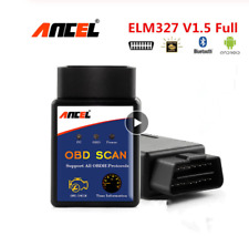 ALFA ROMEO & FIAT OBD2 ANCEL ELM327 Bluetooth V1.5 Android Car EOBD Code Reader