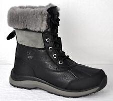 UGG Women's Adirondack III Waterproof Snow Hiking Boots Black Size 9