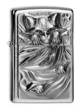 Zippo Lighter ● Anne Stokes Cat Bright Eyes Emblem ● 2004306  Neu New OVP ● B174