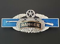 RANGER MASTER JUMP WINGS US Army Combat Infantry Badge CIB Airborne Pin