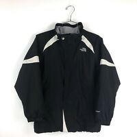 North Face Jacket Girls Large Hyvent Black 14 / 16 Zip Up Coat