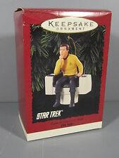 Mib 1995 Star Trek Series Hallmark Ornament / James T Kirk