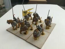 Warhammer Fantasy Age of Sigmar Empire Demigryph Knights x6 painted & converted