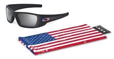 US OAKLEY Brille Google Fuel Cell Matte Black / Grey US Flag ICON Sonnenbrille