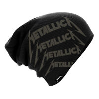 Metallica Beanie Hat Repeat Logo Official Licensed Rock Metal Band Merch