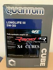 Quantum III 5w/30 LONGLIFE 3 AUDI VW C3 LOW ASH CASTROL EDGE - 20 Ltr Engine Oil