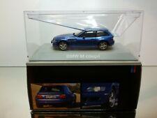 SCHUCO 422195 BMW Z3 M COUPE - BLUE 1:43 -  EXCELLENT IN DEALER BOX