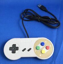 USB Remote Controller Game Joystick for PC/MAC Nintendo SNES Games,NEW