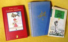 3 x Grimms Märchen verschiedene Ausgaben Sammlung Konvolut Bücherpaket