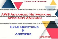 ANS-C00 AWS Advanced Networking Specialty exam questions answers and simulator