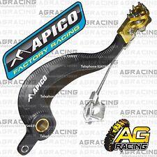 Apico Black Yellow Rear Brake Pedal Lever For Suzuki RMZ 250 2007 Motocross New