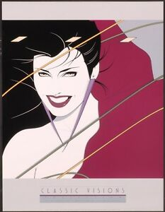 Patrick Nagel RIO TEXAS Rare Lithograph Duran Duran Album Cover Out of Print New