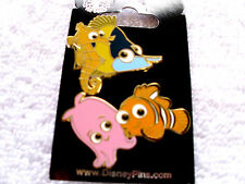 Disney * Finding Nemo - Nemo & Friends - Babies * 2 Pin Set * New on Card