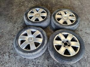 "04-11 Citroen C4 16"" 6 Spoke Alloy Wheels & 205/55R16 Tyres GENUINE 4x108"