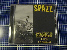 SPAZZ Sweatin' II Deported Live Gorilla CD Tankcrimes Lack Of Interest