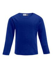 Vêtements bleus avec col rond sans motif pour fille de 2 à 16 ans