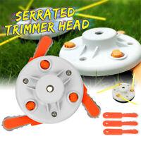 Grass Trimmer Brush Cutter Head Steel Garden Dual Use Tools Strimmer Mower