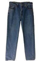 👖 LEVI STRAUSS 504  MENS W 92 BLUE FADED CLASSIC JEANS
