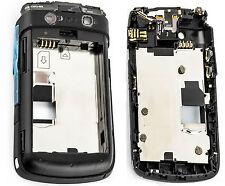 Original Blackberry Bold 9700/9780 Completa vivienda Medio Chasis cubrir parte Bk