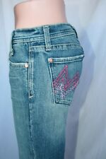 Miss Me Flare Leg Faded Denim SIZE 27