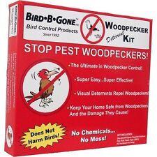 Bird B Gone Woodpecker Deterrent Kit, No Tax, Free Ship