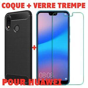 Coque Renforcé Huawei P30 Pro/P20 Lite/P10 Plus/P9/P8 Lite + Vitre Verre trempé
