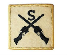 OFFICIAL DESERT ARMY SNIPER PATCH Military iron /sew on soldier jacket badge