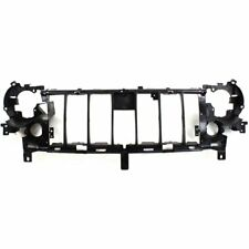 Header Panel For 2005-2007 Jeep Liberty w/ Fog Light Holes Grille Reinf. Plastic