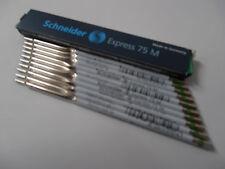 10X Schneider Express 75 M Green Pen Refill 7514 NIP
