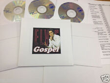 Elvis Presley Karaoke 3 CDG Set Gospel Favorites 45 Songs Music Maestro