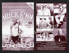 Germany Movie Program ~HUCK FINN ~2012 ~Leon Seidel ~Louis Hofmann ~Jacky Ido
