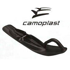 NEW CAMOPLAST ARCTIC CAT PLASTIC SKI SET 7 IN WIDE WITH CARBIDES MOUNTS FIRECAT
