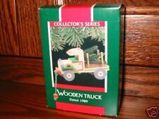Hallmark Wooden Toy Truck 6th & Final Series 1989
