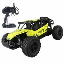 Remote Control Car 1:16 Yellow Rc Monster Truck Buggy Hobby Electric Vehicle