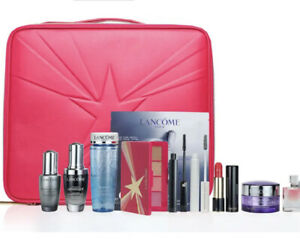New Lancome Holiday 2021 Collection Beauty Box 9 Full Size $440